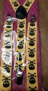 Skull & Crossbones Suspenders